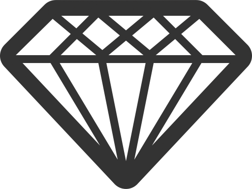 иконка бриллиант, diamond,