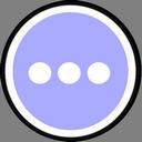 иконки чат, многоточие, chat,