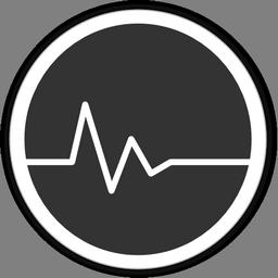 иконка пульс, статистика, активность,