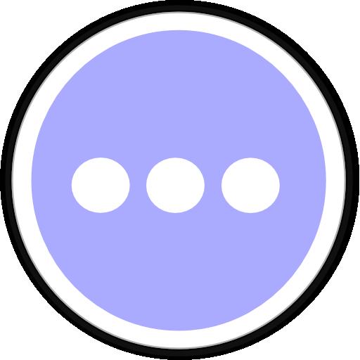 иконка чат, многоточие, chat,