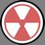 иконки опасность, огнеопасно, радиация, burn,