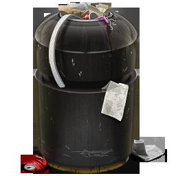 иконки мусор, мусорный контейнер, trash,