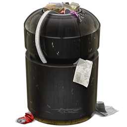 иконка мусор, мусорный контейнер, trash,