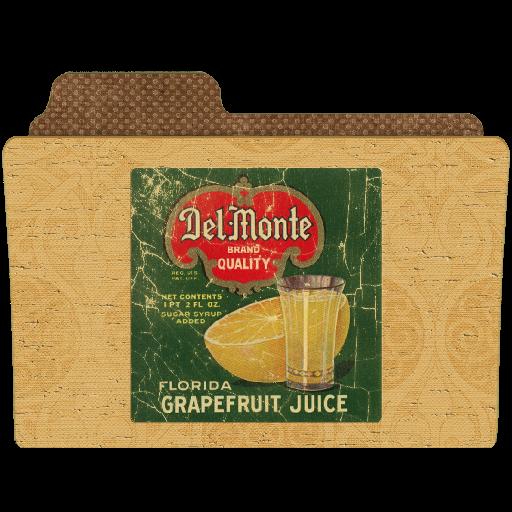 иконки папка, grapefruit,