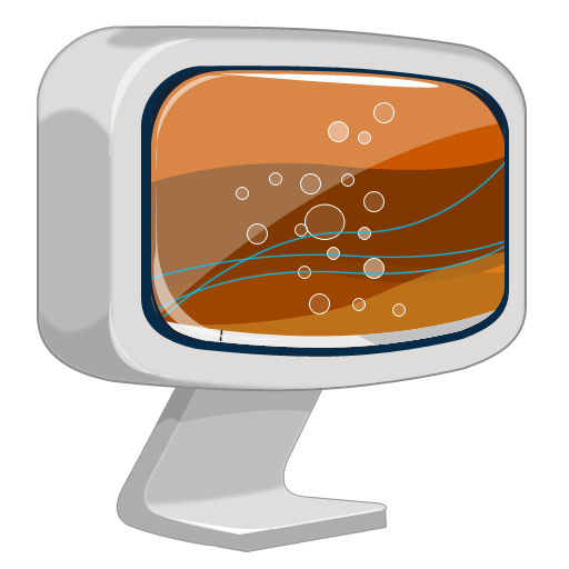 иконка монитор, телевизор, компьютер, computer,
