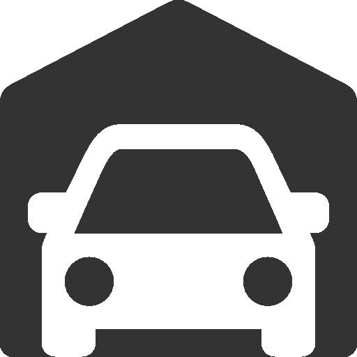 иконка гараж, автомобиль, garage,