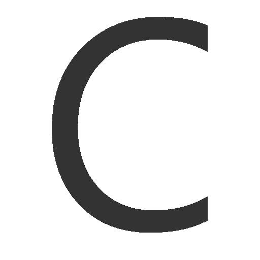 иконки буква c,