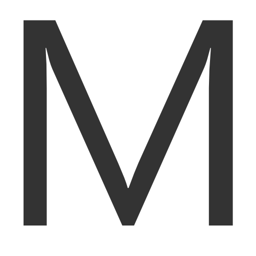 иконки буква m,