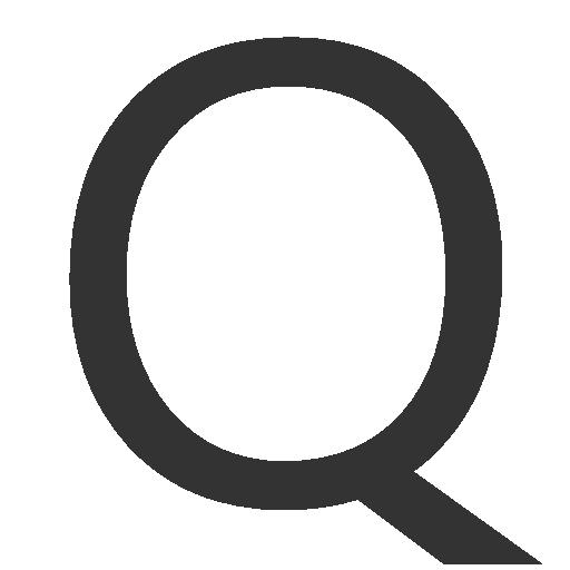 иконки буква q,