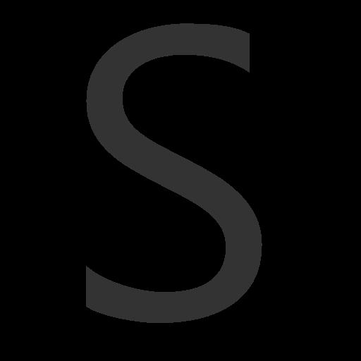 иконки буква s,