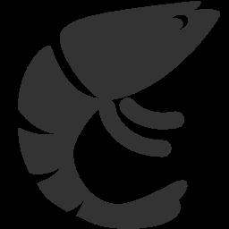 иконка креветки, prawn,