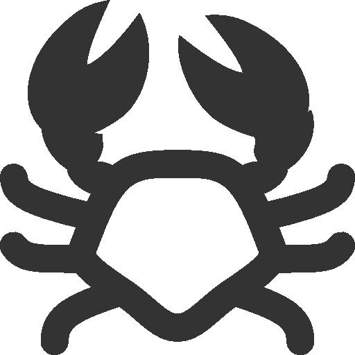 иконки краб, crab,