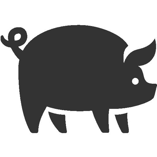 иконки свинья, животное, pig,