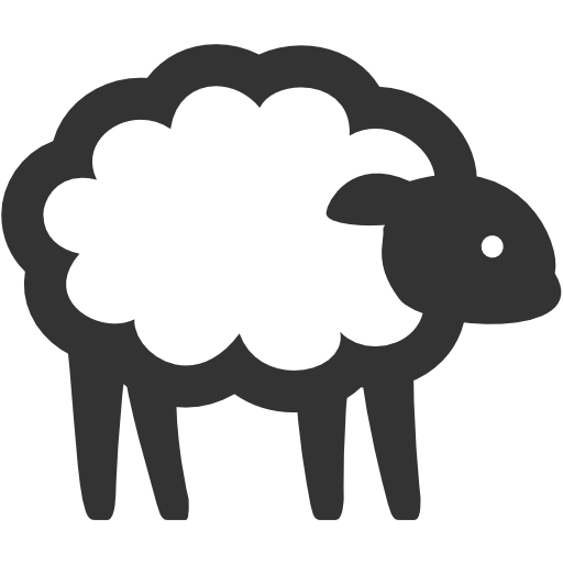 иконка овечка, овца, животное, sheep,