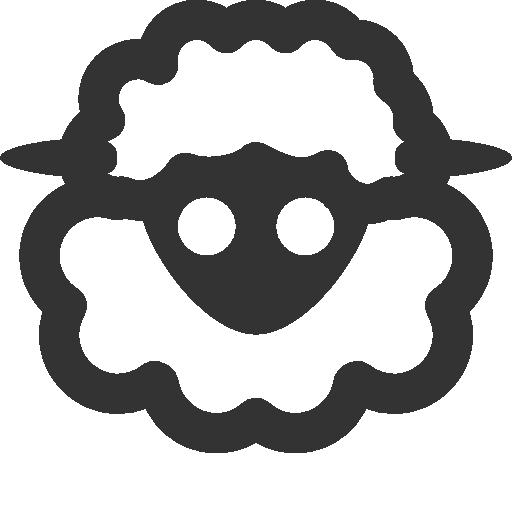 иконка овечка, овца, sheep,
