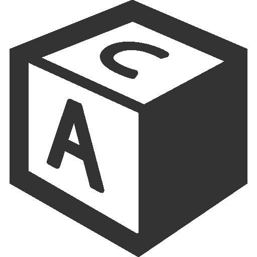 иконка кубик, brick,