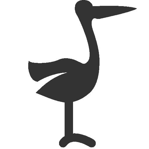 иконки аист, stork,