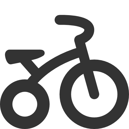 иконка велосипед, tricycle,