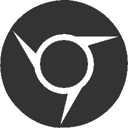 иконка chrome, хром, браузер,