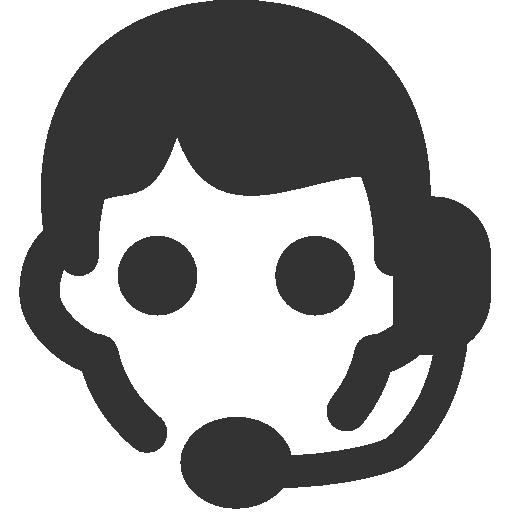 иконка консультант, оператор, assistant,