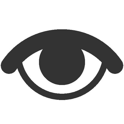 иконки просмотры, видимый, глаз, visible,
