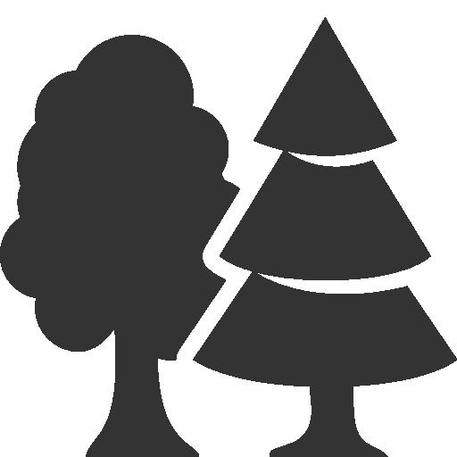 иконки лес, природа, деревья, forest,