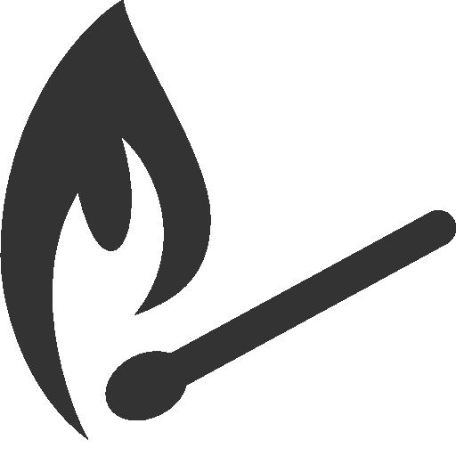 иконки спичка, спички, огонь, matches,