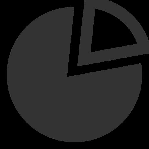 иконка круговая диаграмма, pie,