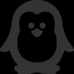 иконка пингвин, животное, penguin,