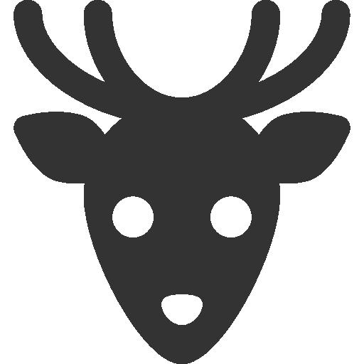 иконки олень, животное, deer,