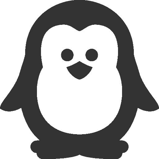 иконки пингвин, животное, penguin,