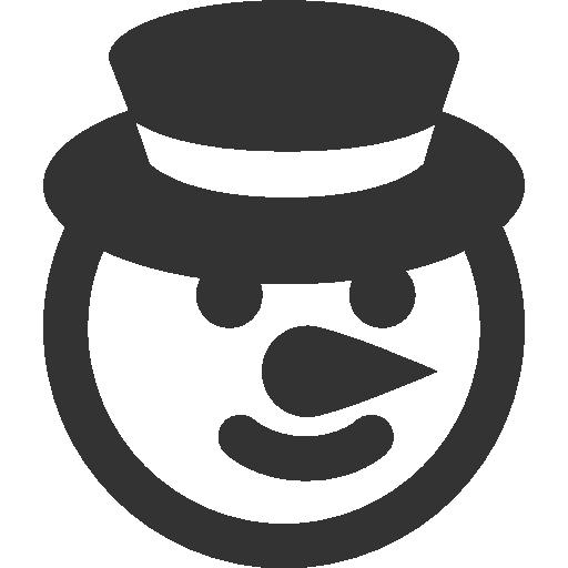 иконки рождественский снеговик, рождество, christmas snowman,