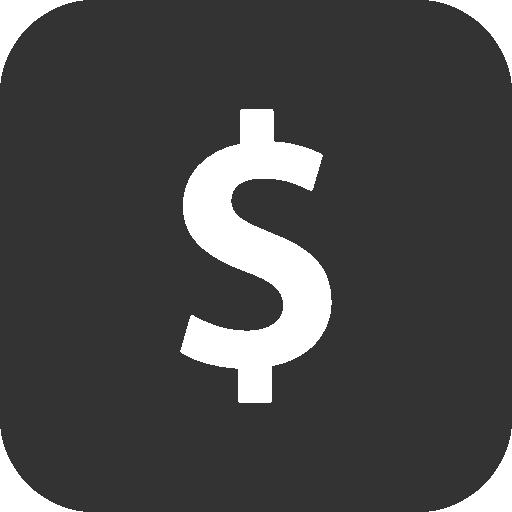 иконка доллар, деньги, bank,