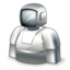 иконка робот, robot,