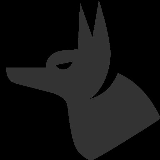 иконка анубис, собака, anubis,