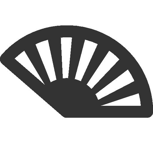 иконки веер, fan,