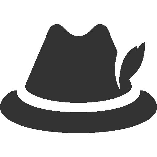 иконка немецкая шляпа, german hat,