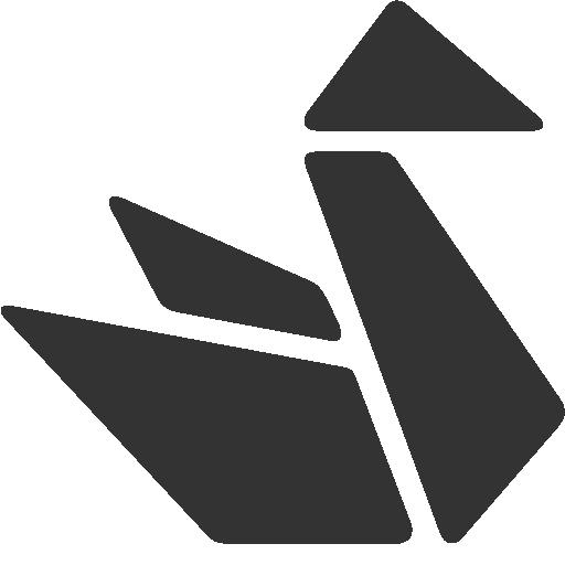 иконка оригами, origami,