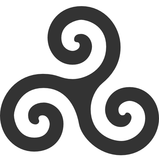 иконка трискелион, triskelion,