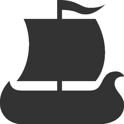 иконки корабль, viking ship,
