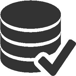 иконки accept database,