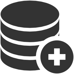иконки добавить базу данных, add database,
