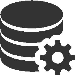 иконка настройки, конфигурация данных, data configuration,