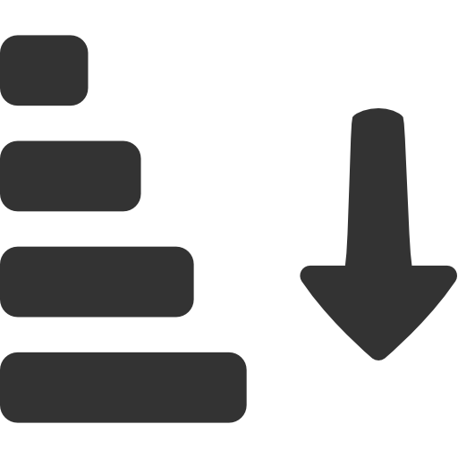иконка сортировка, generic sorting,