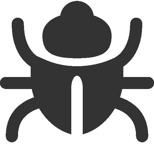 иконки жук, вирус, bug,