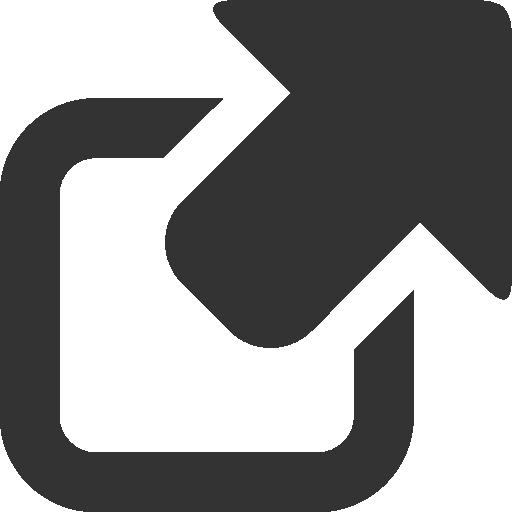 иконка внешняя ссылка, external link,