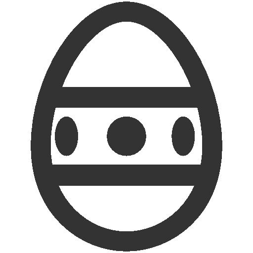 иконка пасхальное яйцо, пасха, easter, egg,