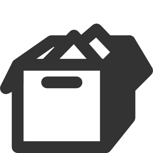 иконки коробка, переезд, box,