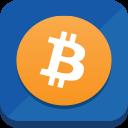 иконка bitcoin, биткоин, криптовалюта,