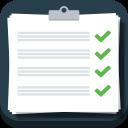 иконка задачи, список, план, clipboard,
